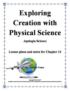 Apologia Exploring Creation with Physical Science Chaptr 1