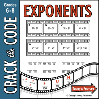 Exponents: Crack the Code!