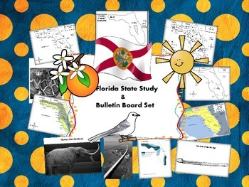 Florida State Study & Bulletin Board Set