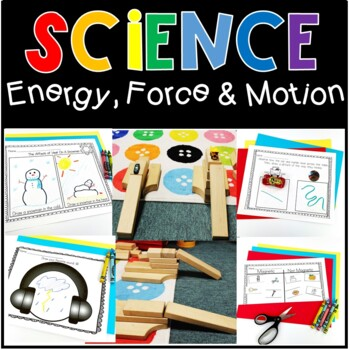 Exploring Force, Motion, & Energy (Including Magnets) In T