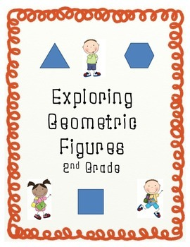 Exploring Geometric Figures 2D and 3D Shapes-2nd Grade