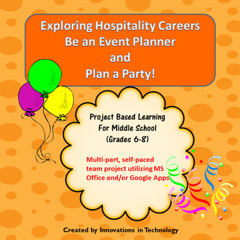 Exploring Hospitality Careers:  Be an Event Planner & Plan