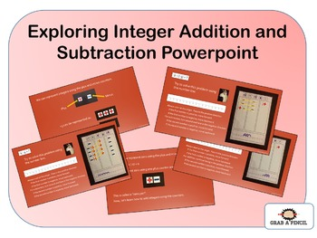Exploring Integer Addition and Subtraction Powerpoint