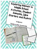 Exploring Memoir in Middle School (Activities, 20 Idea Sta