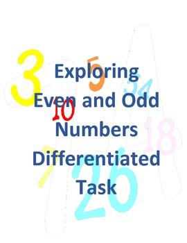 Exploring Odd and Even Numbers
