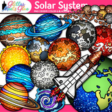 Solar System Clip Art - Planets, Galaxies, Exoplanets, Spa