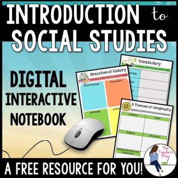 Exploring Social Studies Digital Interactive Notebook For