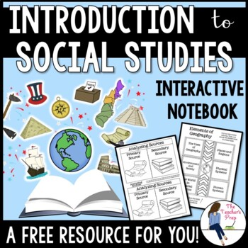 Exploring Social Studies Interactive Notebook Graphic Orga