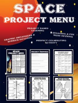 Exploring Space Project Menu