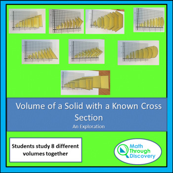 Calculus:  Volumes of Solids with Known Cross Sections - A