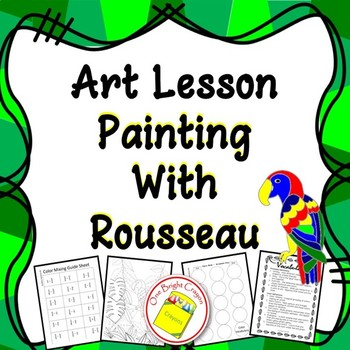 Exploring and Painting with Henri Rousseau - Fantasy Art -