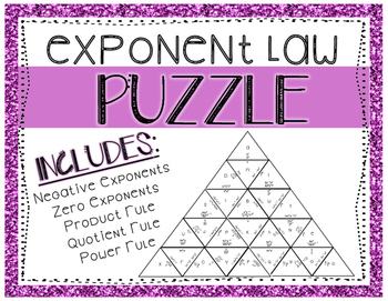 Exponent Law Puzzle