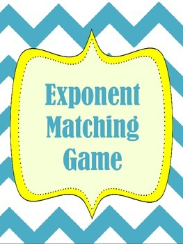 Exponent Matching Game