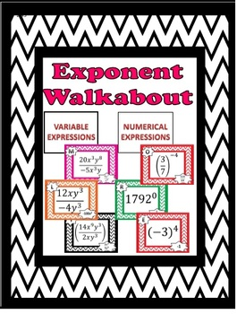 Exponent Walkabout Activity