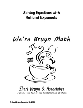 Exponential Equations - Solving