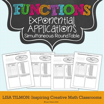 Exponential Functions Applications Simultaneous RoundTable