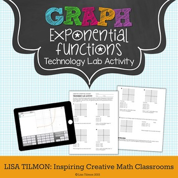 Exponential Functions Graphing Transformations Tech Lab Activity
