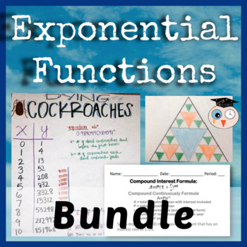 Exponential Functions Growing Bundle
