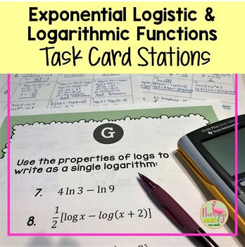PreCalculus: Exponential Logistic and Logarithmic Stations