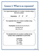 Introduction to Exponents!