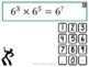 Exponents Indices (Dance Mat Maths)