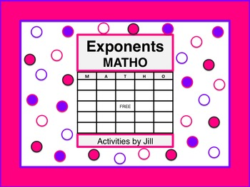 Exponents MATHO