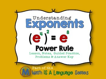 Exponents - Power Rule