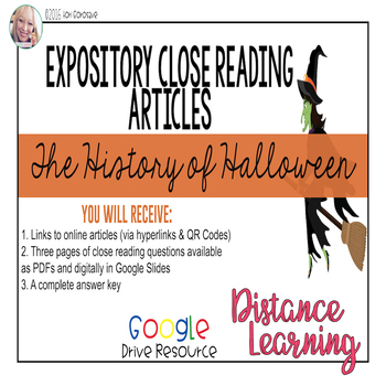 Expository Article - The History of Halloween {Google Digi