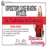 Expository Article - The Origins of Mr. Claus / Krampus {G