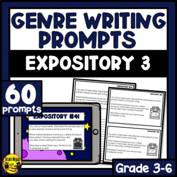Daily Expository Writing Prompts - Set 3