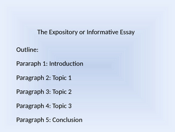 Expository Essay Writing Tutorial