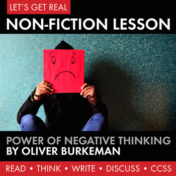 Expository, Non-Fiction Lesson on Modern Issues: The Power