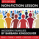 Expository, Non-Fiction Lesson on Modern Issues: Tradition