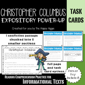 Expository Power-Up: Christopher Columbus