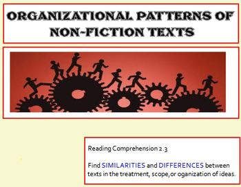 Expository Text: Patterns of Organization