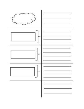 Expository Writing Graphic Organizer **STAAR**