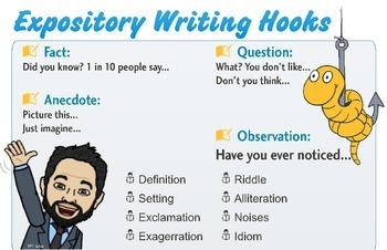 Expository Writing: Hooks