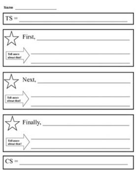 Expository Writing Outline/Graphic Organizer