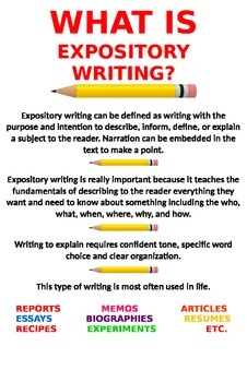 Expository Writing Posters