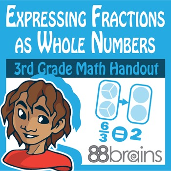 Expressing Fractions as Whole & Whole Numbers as Fractions