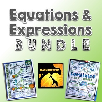 Expressions & Equations Bundle