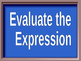 Expressions, Equations and Inequalities Jeopardy game