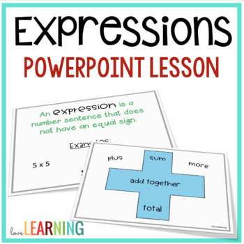 Expressions, Variables, and Equations Lesson {5th Grade CC