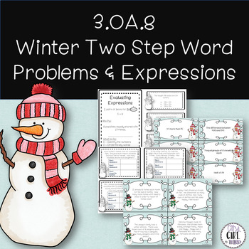 Expressions and Two Step Word Problems 3.OA.8