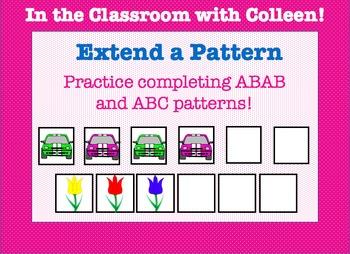 Patterns! Extend a Pattern! Extending Patterns: File Folde