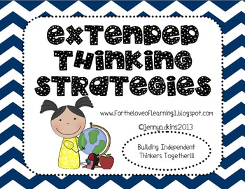 Extended Thinking Strategies Posters