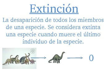 Extinction Extincion