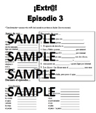 Extra! Extr@! episodio 3 Worksheet Spanish