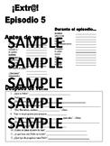 Extra! Extr@! episodio 5 Worksheet Spanish
