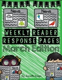 Extra! Extra!  Scholastic News Reading Response: March 201